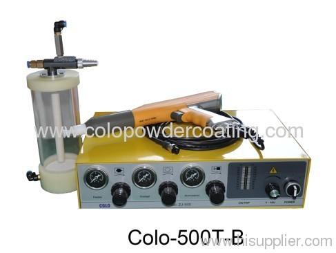 electrostatic powder painting gun system