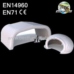 White Outdoor Inflatable Tent