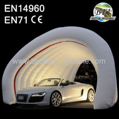 Inflatable Tunnel For Car