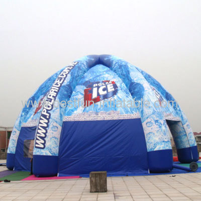 Colorful Spider Inflatable Tent