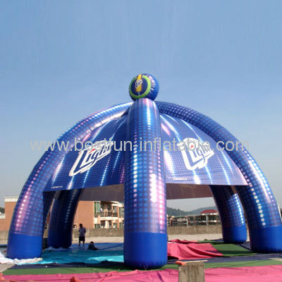 Eight Column Inflatable Tent