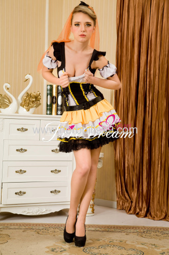 sexy lingerie Beautiful witch cosplay costume ZF-036