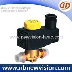 Refrigeration Solenoid Valve for Castel - Solder Type