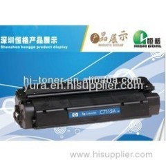 HP toner cartridge laser cartridge compatible cartridge