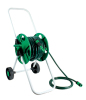 Plastic Water Hose Reel Cart With 2-pattern Hose Nozzle Set