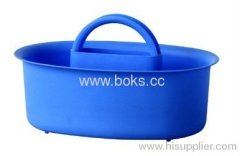 2013 blue plastic bath baskets