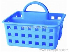 2013 durable blue plastic bath baskets