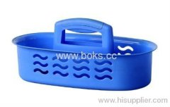 2013 durble plastic bath baskets with handle