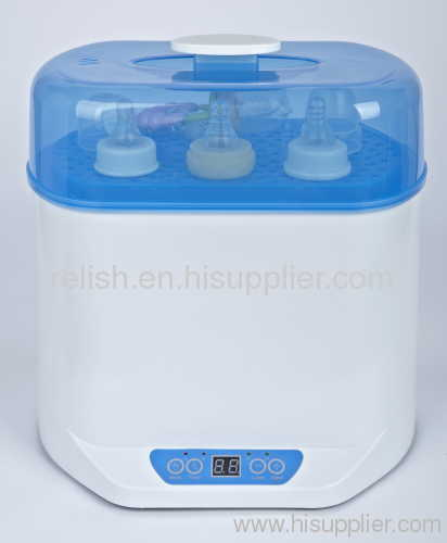 digital steam sterilizer and food warmer
