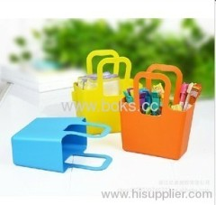2013 plastic hanle baskets plastic shower caddy