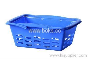 2013 plastic bath basket with handle