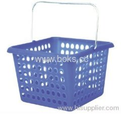 2013 plastic storage basket with handle