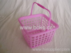 2013 small handle baskets plastic