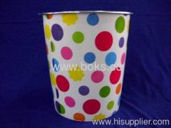 2013 round plastic waste baskets