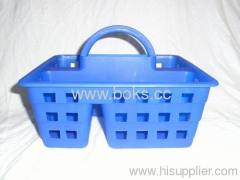 2013 plastic shower caddy with handle