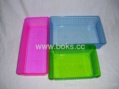 2013 small plastic file baskets