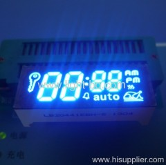 Custom Blue oven timer display; oven timer led displays;