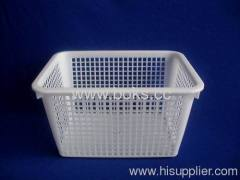 2013 white durable plastic fruit baskets