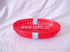 2013 lovely plastic mini fruit baskets