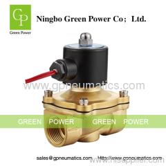 AC220V 2W brass solenoid valve