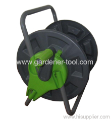 Plastic Garden Hose Reel With Strong Frame