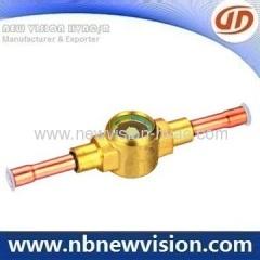 Danfoss Brass Moisture Indicator