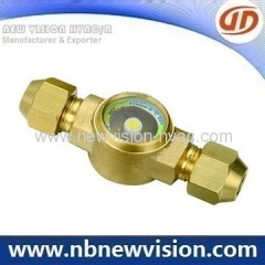 Danfoss Brass Sight Glass
