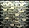 Ellipse luster glass mosaic grey