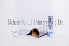 Pharmacy blister foil for packaging