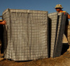 wire mesh military defence barrier