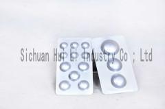 Alu alu foil for medicines package