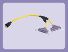 America extension cord with adaptor