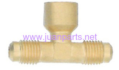 Brass fitting Three - Way Tees Internal Branch