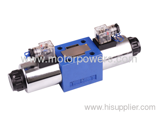 Solenoid operated directional spool valves