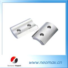 Segment NdFeB permanent Magnet