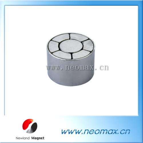 motor magnet permanent assembly
