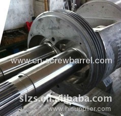 Conical Screw & Barrel for plastic extrusion machine