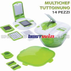 kitchen dicer plus /kitchen master plus/SALAD ALL IN ONE