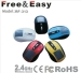 rechargeable solar battery 2.4g wireless solar mouse