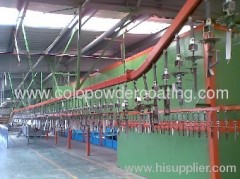electrostatic powder coating line supplier