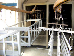aluminium profile powder coating line with ISO9000 quality m