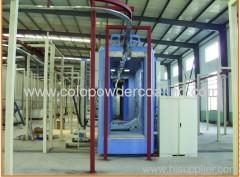 avec la ligne de peinture automatique de système de gestion de la qualité ISO9000