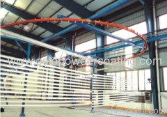 con gestione della qualità ISO9000 sistema di verniciatura a polvere impianto