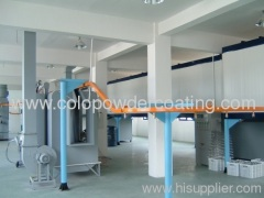 with ISO9000 quality management system automatic painting plant