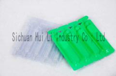 PVC/PE laminate sheet for liquid packaging
