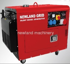 GS approved silent diesel generator