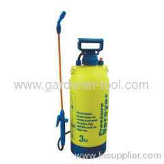 Outdoor 3.0L weedkiller chemical pressure sprayer