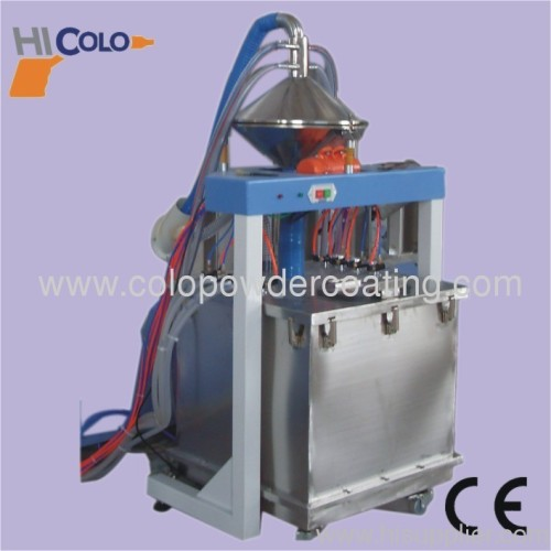 powder paint spraying robot