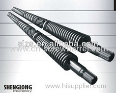Parallel Bimetallic Twin Screw and Nitritding Cylinder