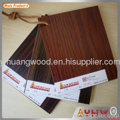 E0 glue melamine faced mdf